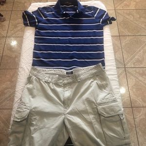 Men's outfit shirt and short
